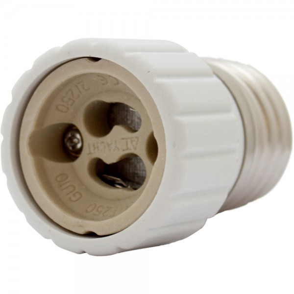 Lampensockel Adapter E27 auf GU10