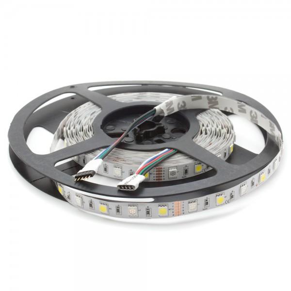 LED RGBW Leiste 24V, 5m, 60 LED/m, IP20