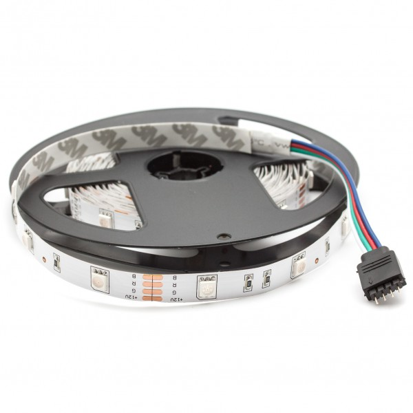 LED Streifen 12V, 5m, 30 LED/m, IP20
