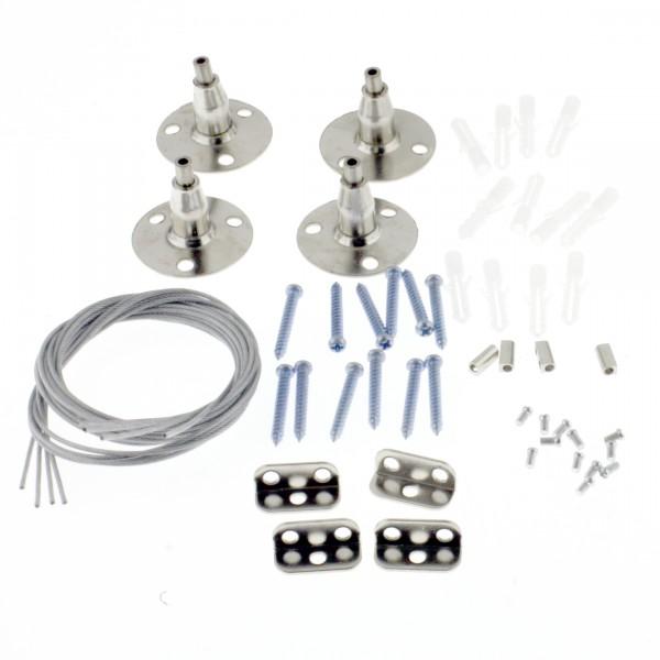 Drahtsei-Montage-Set LED-Panele