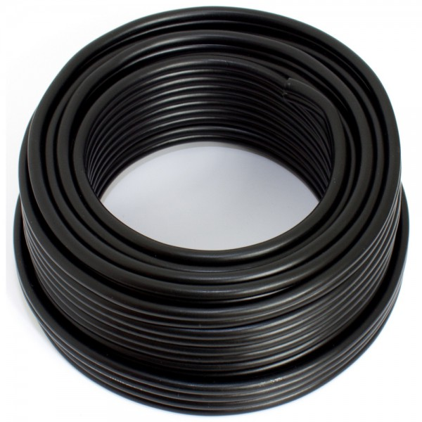 SeKi Lautsprecherkabel CCA, 4,00mm², 10m, schwarz