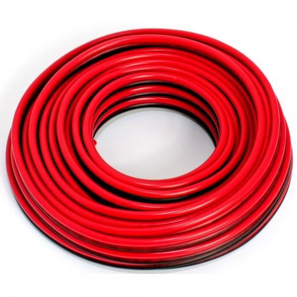 SeKi Lautsprecherkabel CCA, 2,50mm², 10m, rot-schwarz