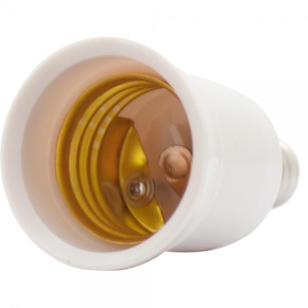 Lampensockel Adapter E14 auf E27