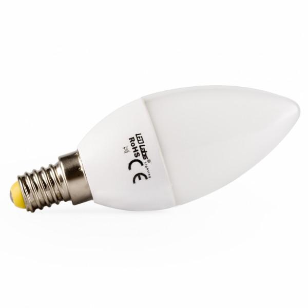 LED Kerze, E14, 4W, warmweiß