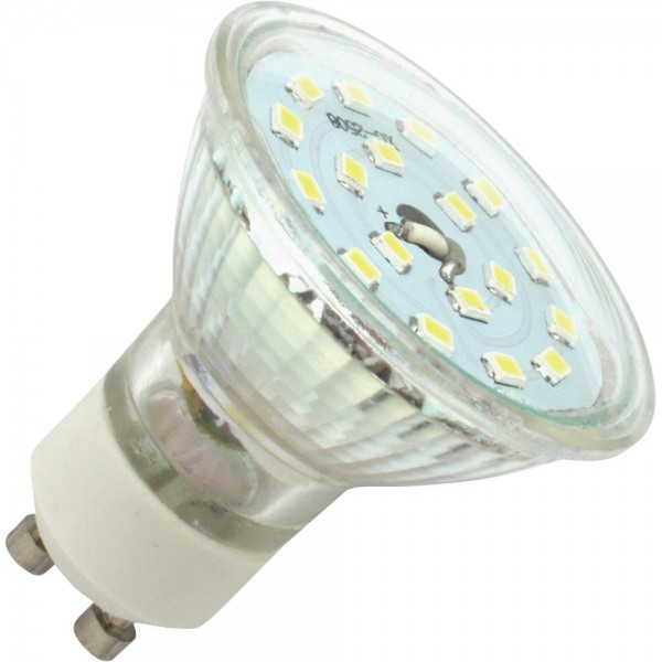 Led Spotlight, GU10, 3W, kaltweiß