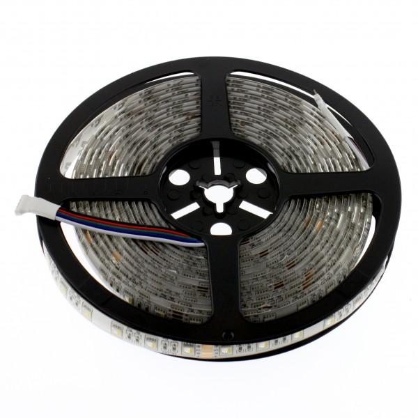 LED RGBW 4in1 Leiste 24V, 5m, 60 LED/m, IP65