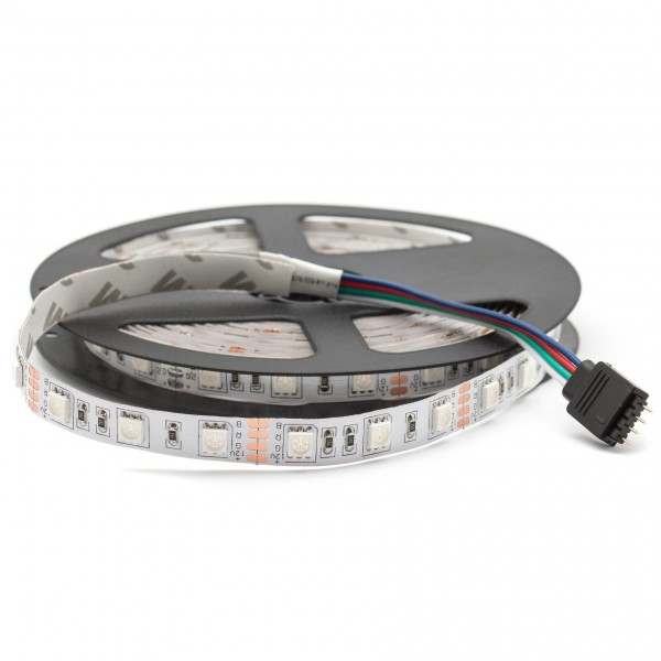 LED Streifen RGB 24V, 5m, 60 LED/m, IP20