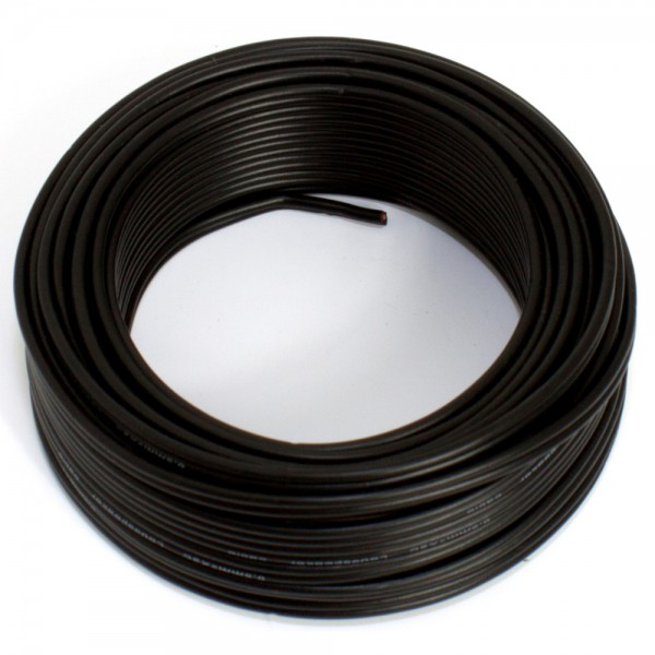 SeKi Lautsprecherkabel CCA, 0,50mm², 10m, schwarz