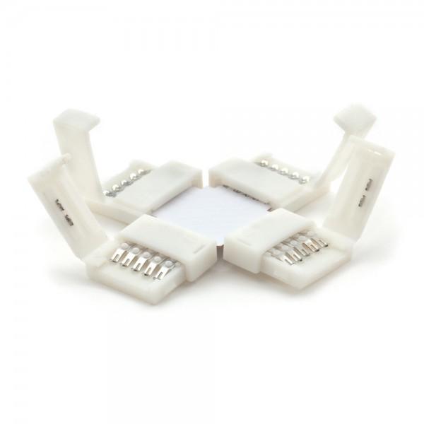 Kreuz - Verbinder für LED Streifen